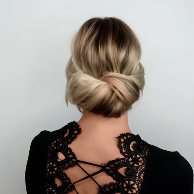 Diy Wedding Guest Hair: ROMANTIC UPDO HAIRSTYLE TUTORIAL