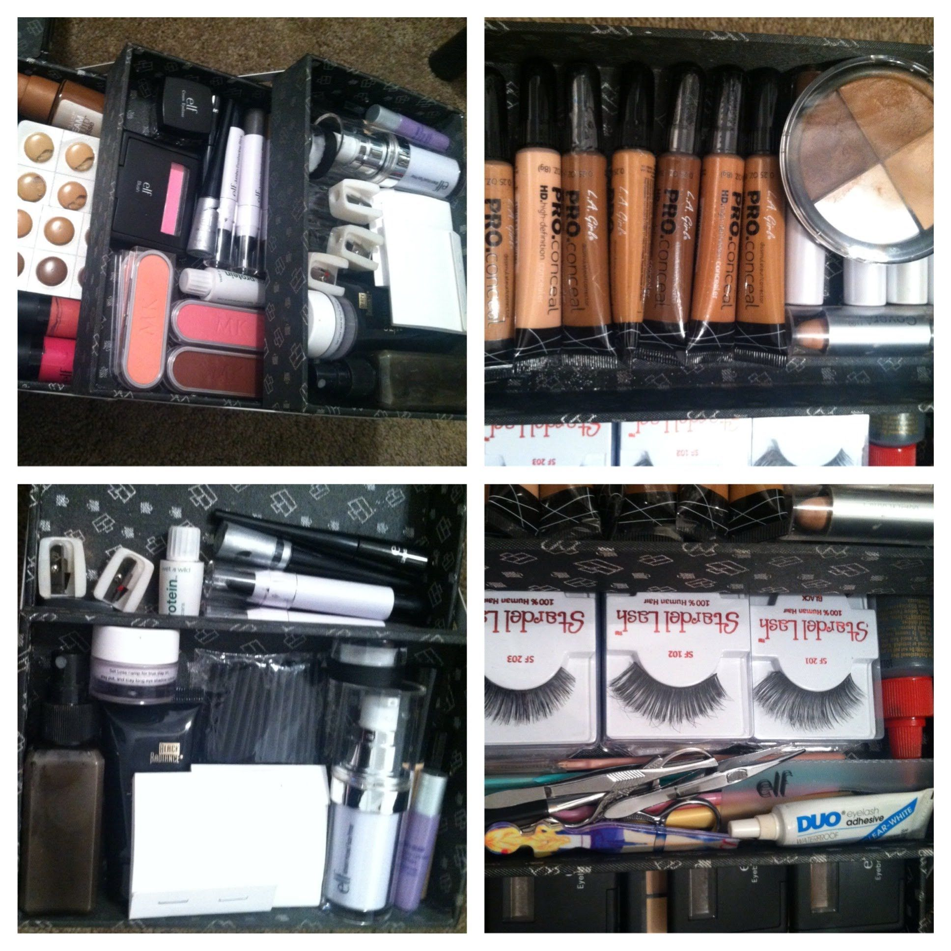 My Beginner Freelance Makeup Kit Freelance makeup kit