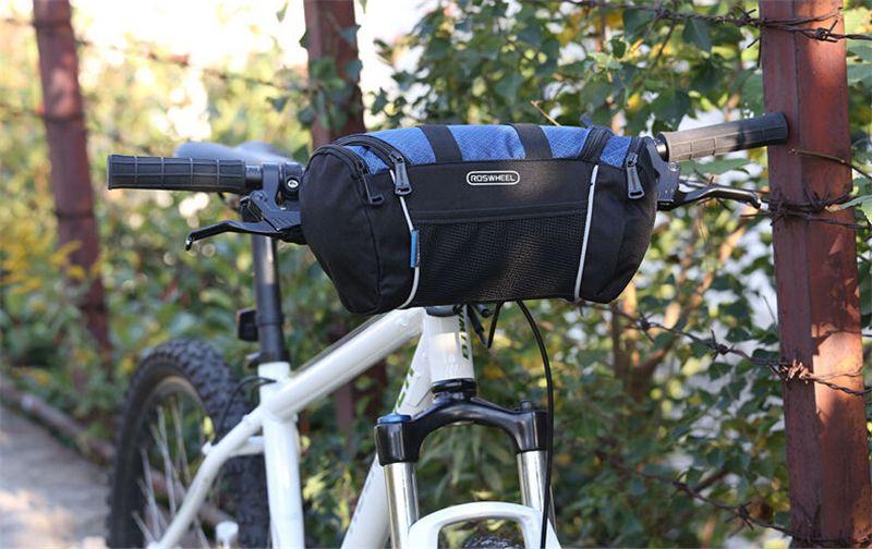 Cycling Bags Bicycle Bike Handlebar Bag Front Tube Pannier Rack Basket