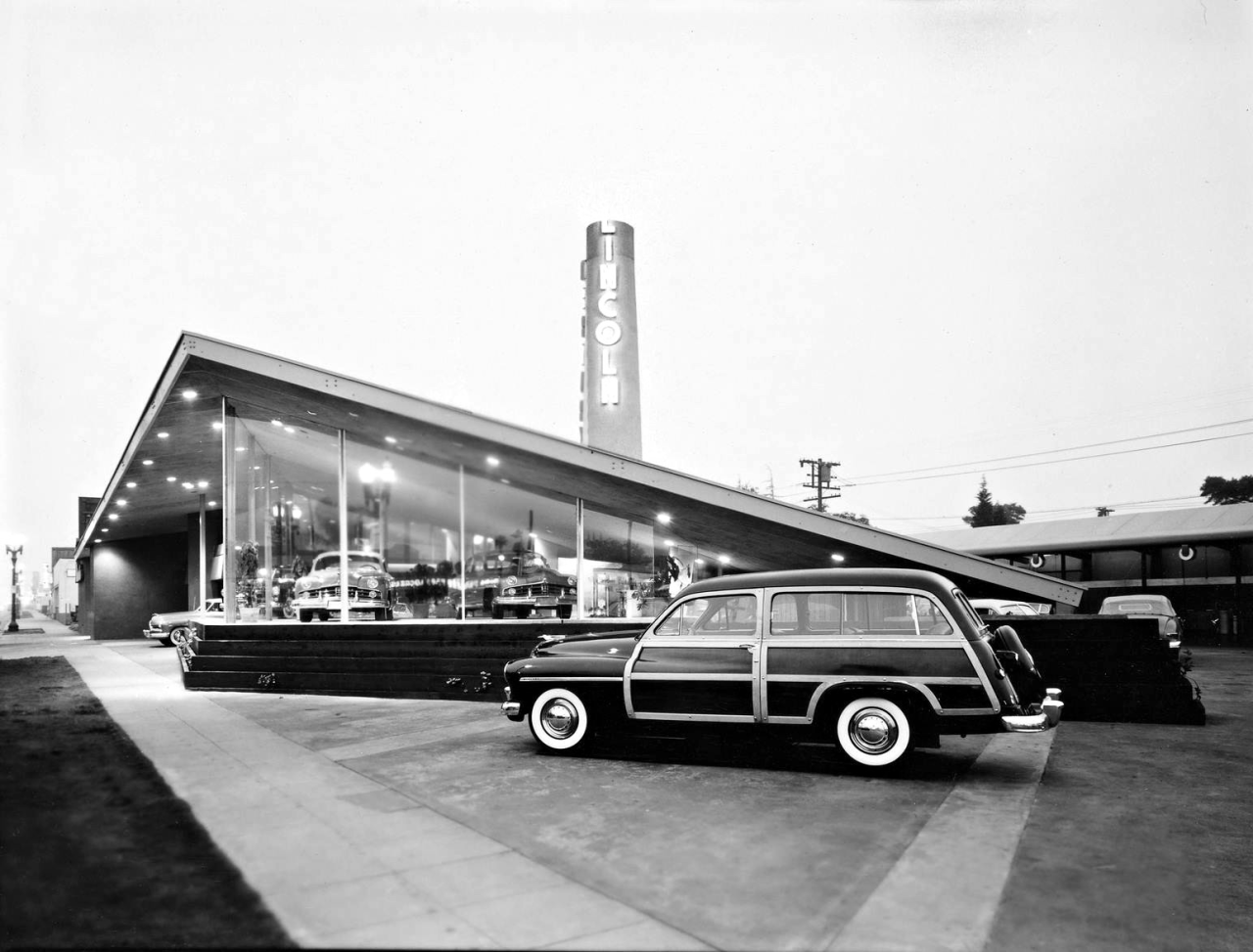 1950 Tower Lincoln Mercury Dealership, Glendale, California ...