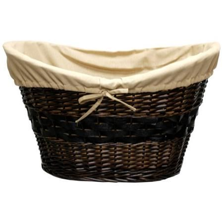 Better Homes And Gardens Hand Woven Wicker Laundry Basket With