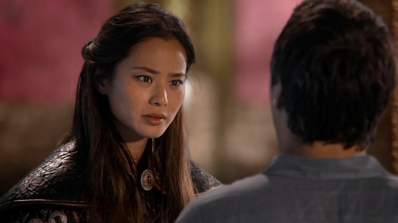 Jamie Chung Scene jamie chung as mulan like the whole warrior woman isn't