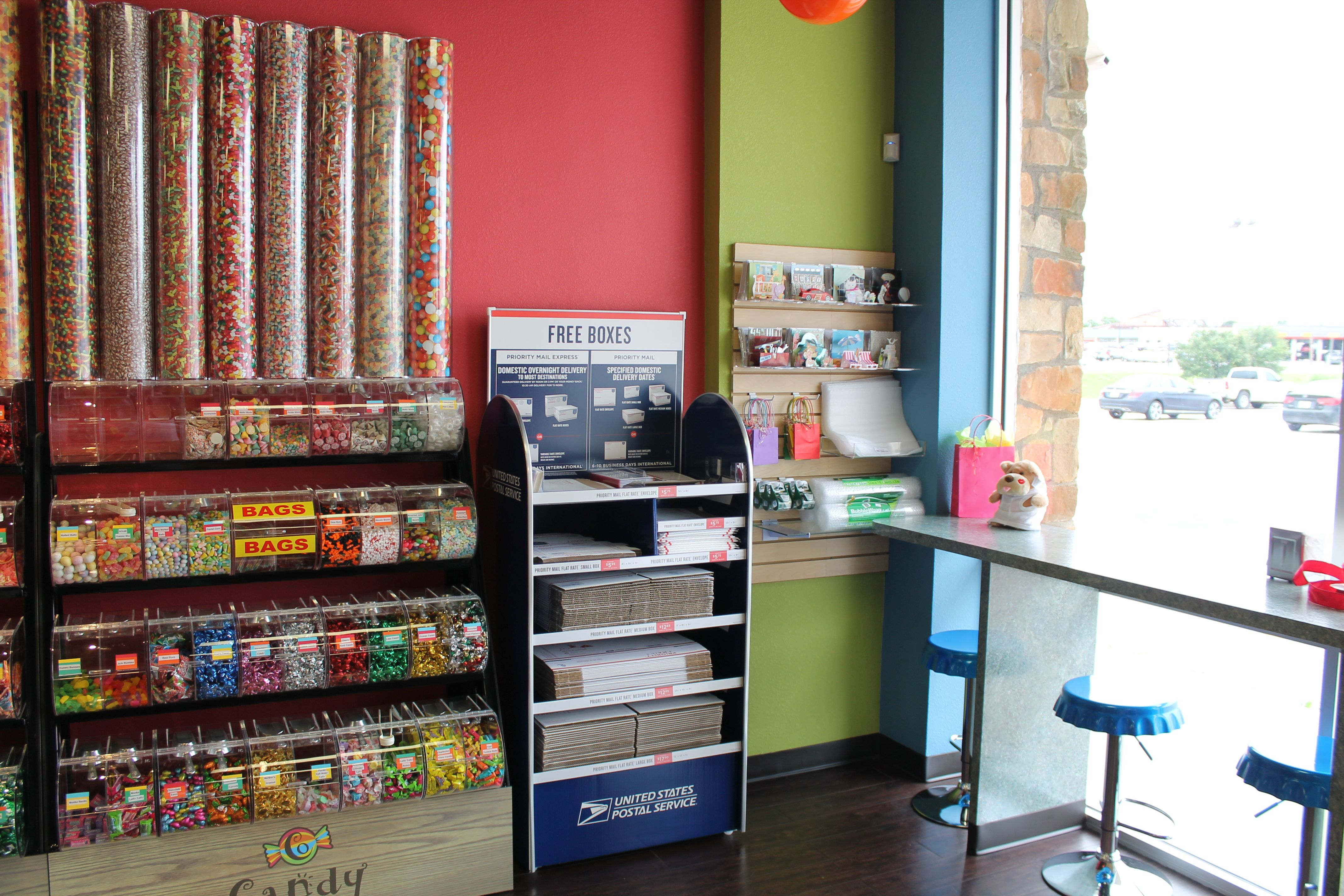 Candy Outfitters Candy Store   Village Post Office In Copperas Cove, Texas