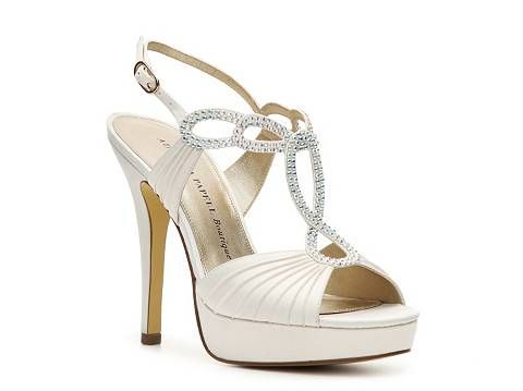 SO sad they only have this in black and ivory :( Adrianna Papell Boutique  Misty Sandal