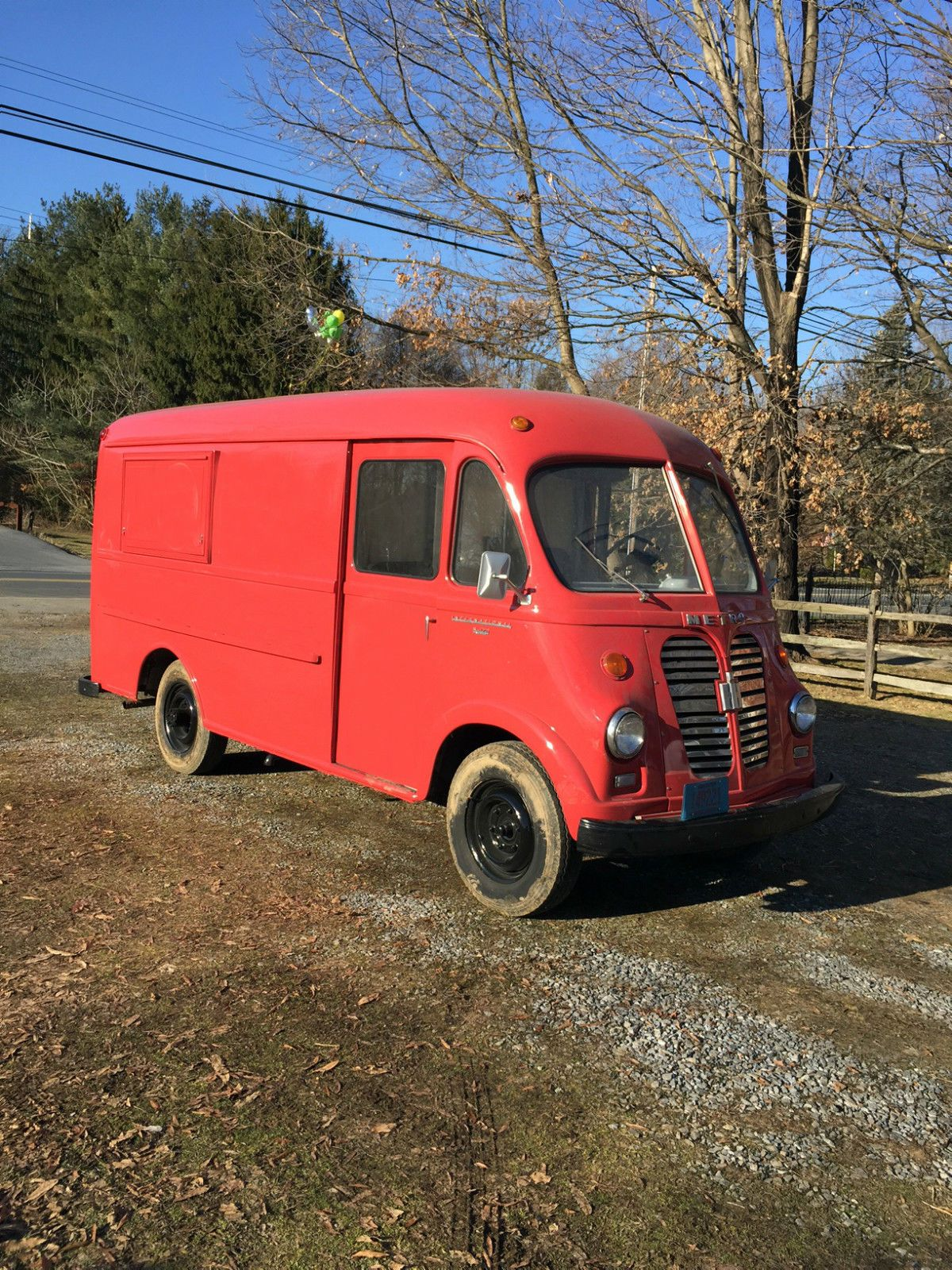 1956 international harvester metro step van