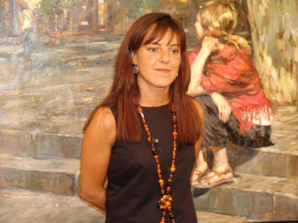 Galleri Graff - Monica Castanys  Monica er født i 1973. En malerinne fra Barcelona med solid utdannelse fra kunstskoler i Spania og Italia.