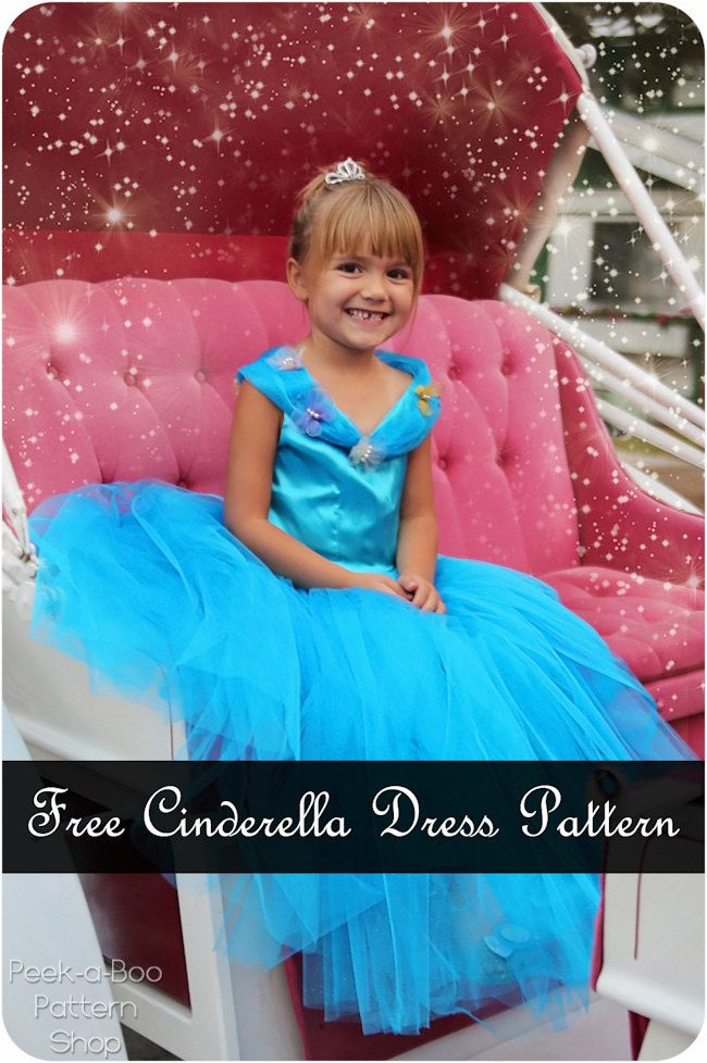Free Cinderella dress pattern | FREE sewing patterns | Pinterest ...