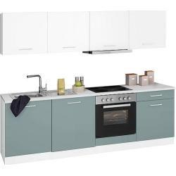 Held Möbel Küchenzeile Visby mit E-Geräten Breite 240 cm Held Möbel