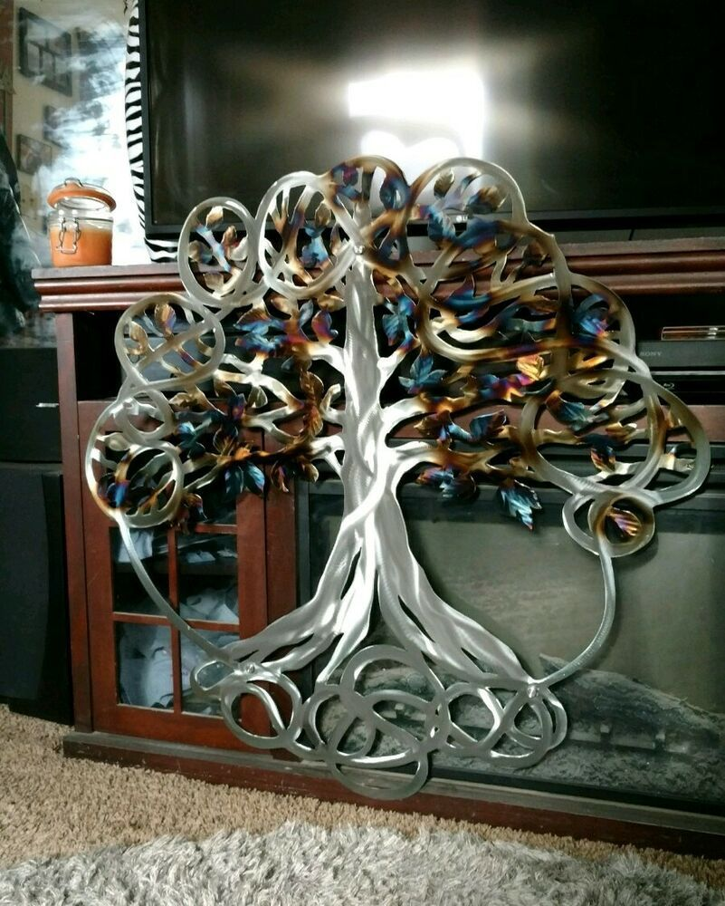 Large Wall Art Tree Of Life Wall Art Indoor Sculpture Outdoor Living Room Decor Jgrimes Modern Metal Tree Wall Art Hanging Wall Art Tree Wall Art