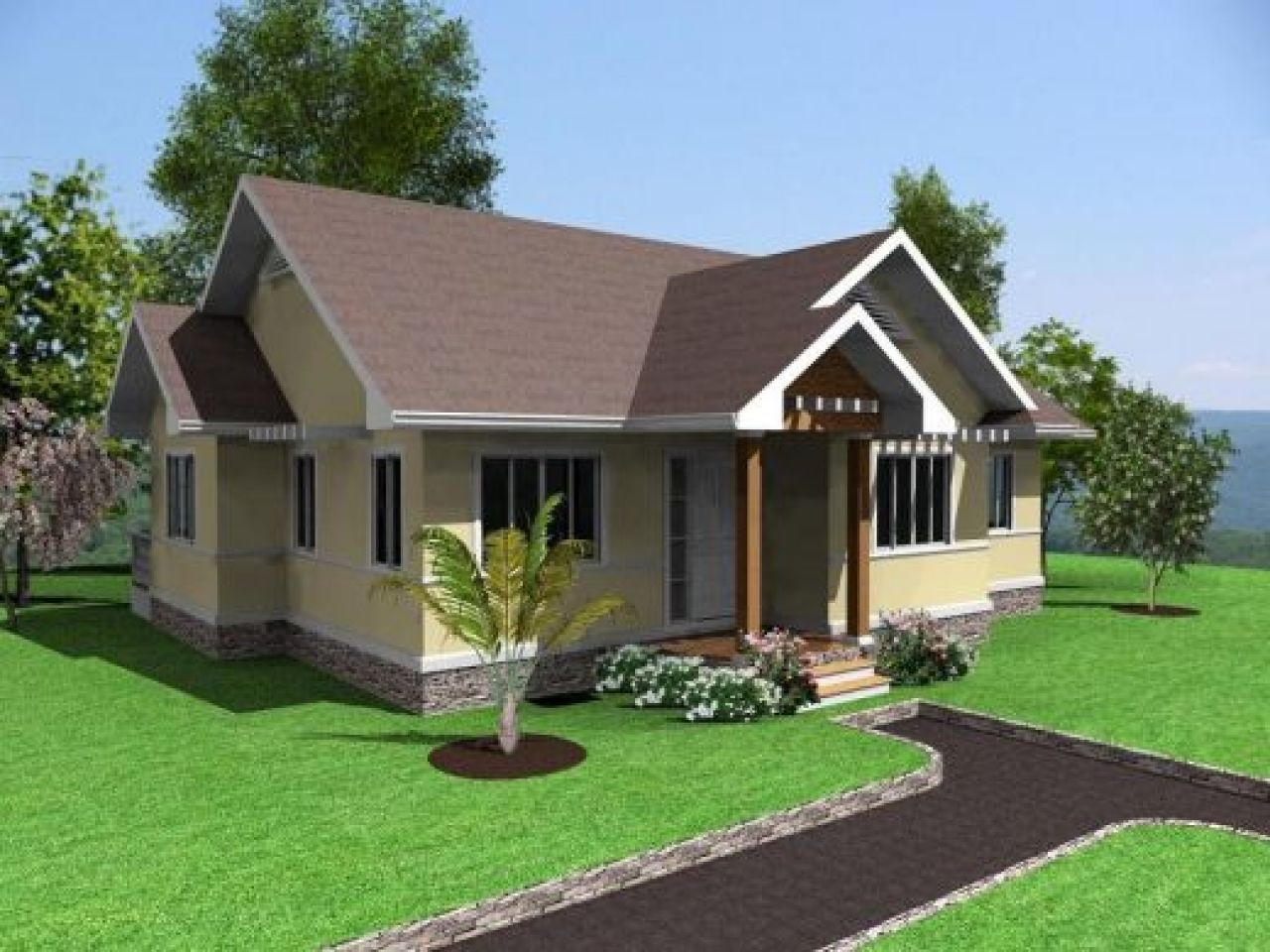 Simple house design 3 bedrooms in the philippines simple modern house designs lrg c49204d3ab244ccb