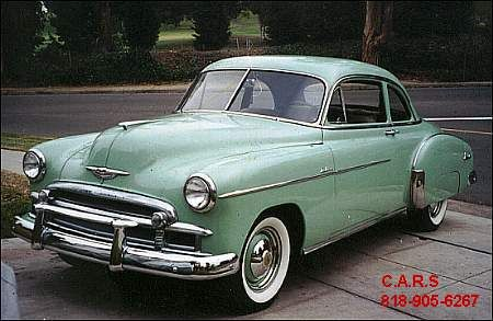 My First Car 1950 Chevy Coupe Chevy Cars Movie Classic Cars