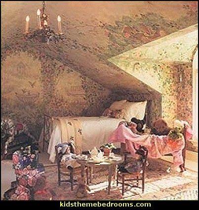 Forest Fairy Bedroom Woodland Themed Deccorating Ideas Fairies Decor