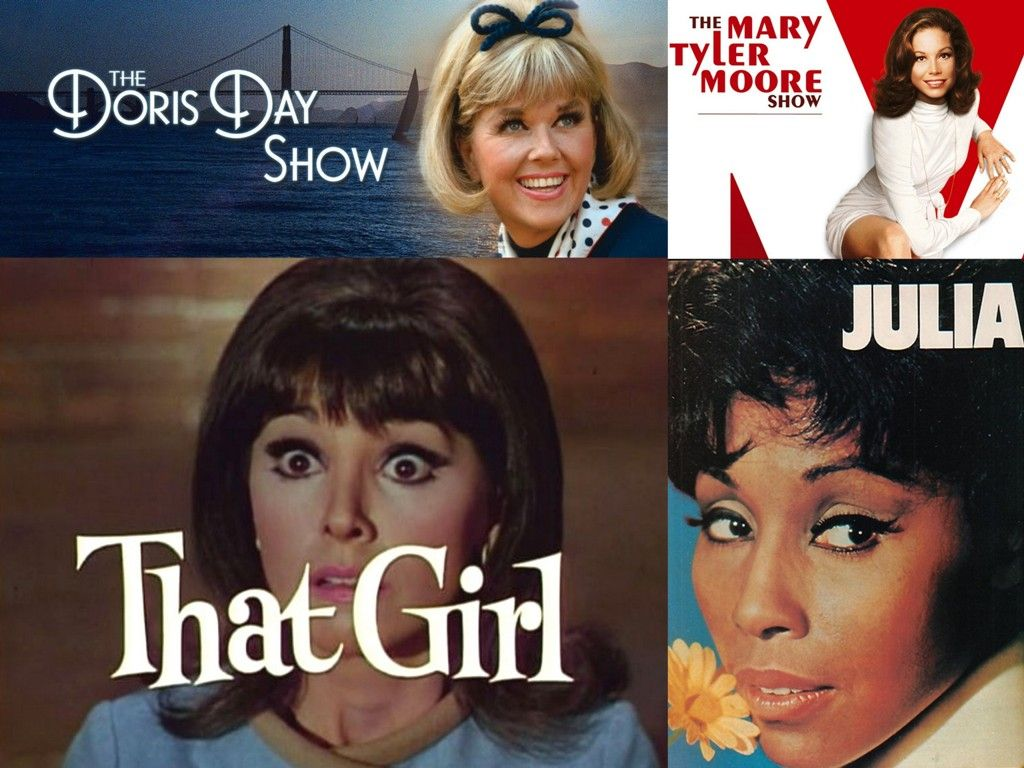 National Women's History Month (March): Here are some of the TV shows that had confident, progressive, and strong female lead characters who were admired and inspired many young girls. Julia (Diahann Carroll, 1968-1971), The Doris Day Show (1968-1973), The Mary Tyler Moore Show (1970-1977), and That Girl (Marlo Thomas, 1966-1971). This is only a few and by no means represents all of the memorable female characters who influenced us over the years, but thank you ladies! #WomenRockRollRule