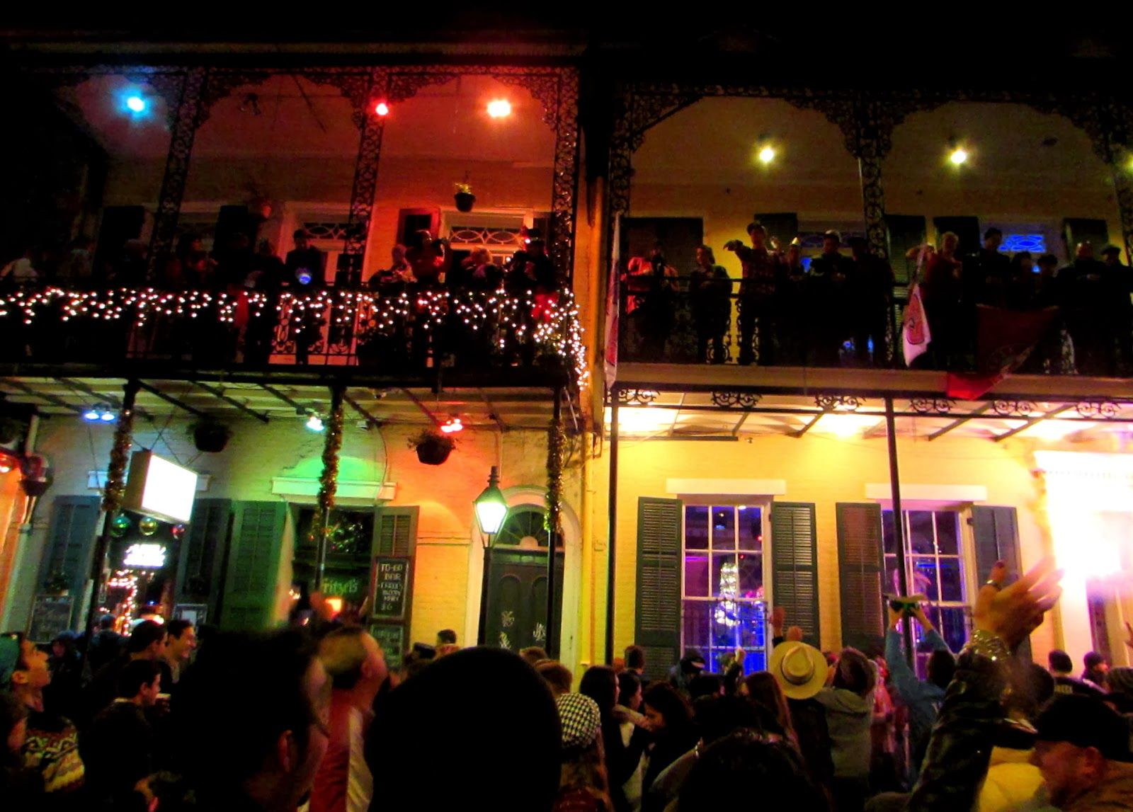 New Years Eve On Bourbon St New Orleans Louisiana Nola Nye