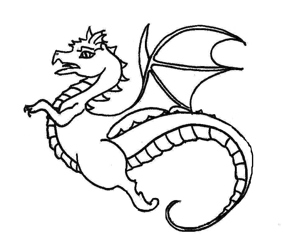 Fast Flying Dragon Coloring Pages | dragons | Pinterest | Dragons ...