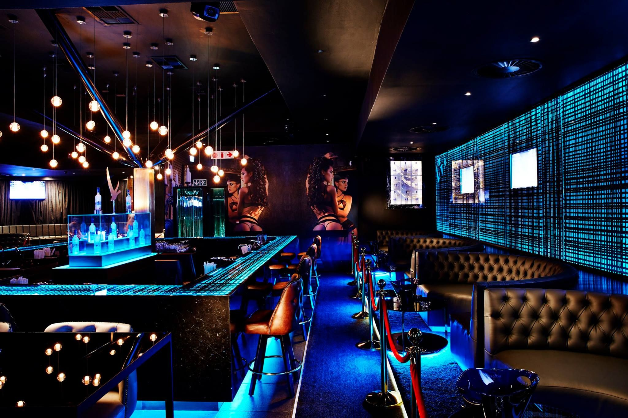 Studio A Signature Projects / Pretoria, South Africa. VANITY Club / Bar U0026 Nightclub  Design