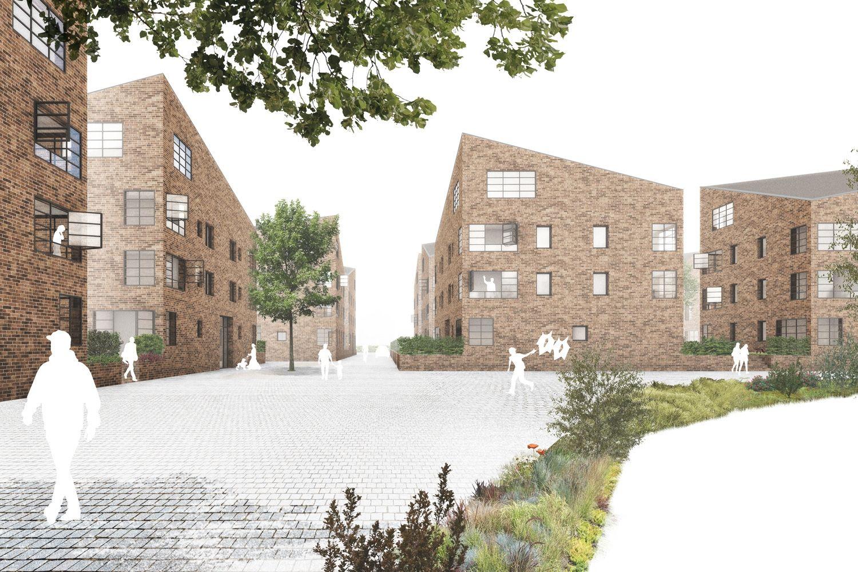 Ergebnis: Melle – Neue Mitte Nord...competitionline #architektonischepräsentation