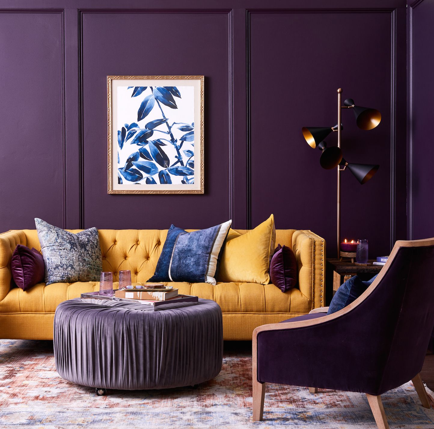 Find your Fall look for less! - HomeGoods | Purple living ...