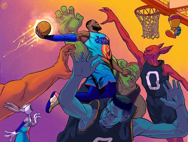 Excited For Space Jam 2 Spacejam Bron Vs The Retro Monstars Favoriteathlete Swipe Nike Toon Sq Toon Squad Toon Squad Jersey Favorite Character