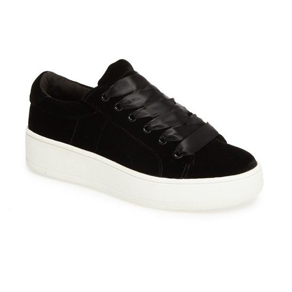 afb97a57dae Women s Steve Madden Bertie-V Platform Sneaker ( 70) ❤ liked on Polyvore  featuring shoes