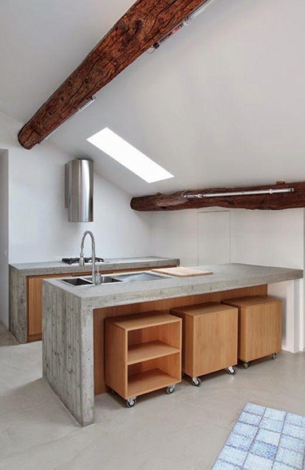 De 30 cocinas modernas peque as llenas de inspiraci n for Cocinas super pequenas