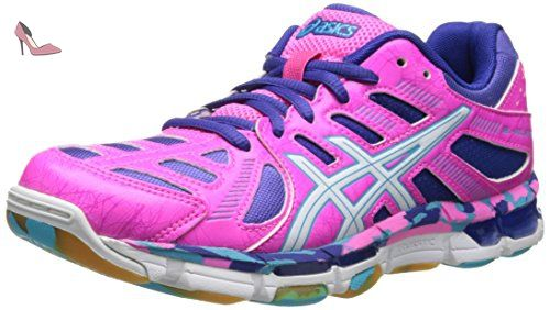 GT 1000 5, Chaussures de Running Entrainement Femme, Rose (Coral Pink), 37 EUAsics