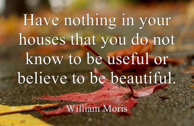 Usefulness and Beauty :)
