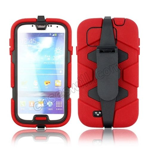 Belt Clip Survivor Extreme Protective Case Cover For Samsung Galaxy S4 i9500 US$8.99