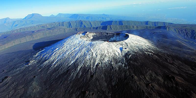 Island, Reunion, Coast, Volcano, Volcanic Rock #island, #