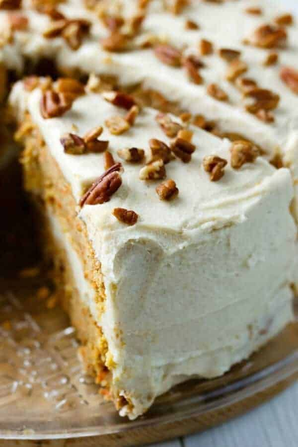 Paleo Carrot Cake Recipe with Maple Syrup - My Natural Family,  #cake #carrot #Family #LactoseFreeDietcleaneating #Maple #Natural #paleo #recipe #Syrup