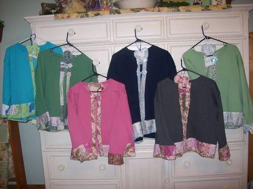 Sweatshirt Jacket Craft | Topic: Embelished/Quilted Sweatshirt ... : quilted sweatshirt jacket - Adamdwight.com