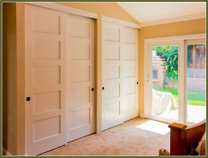 sliding bypass closet doors clean organized closets pinterest more closet doors doors and. Black Bedroom Furniture Sets. Home Design Ideas