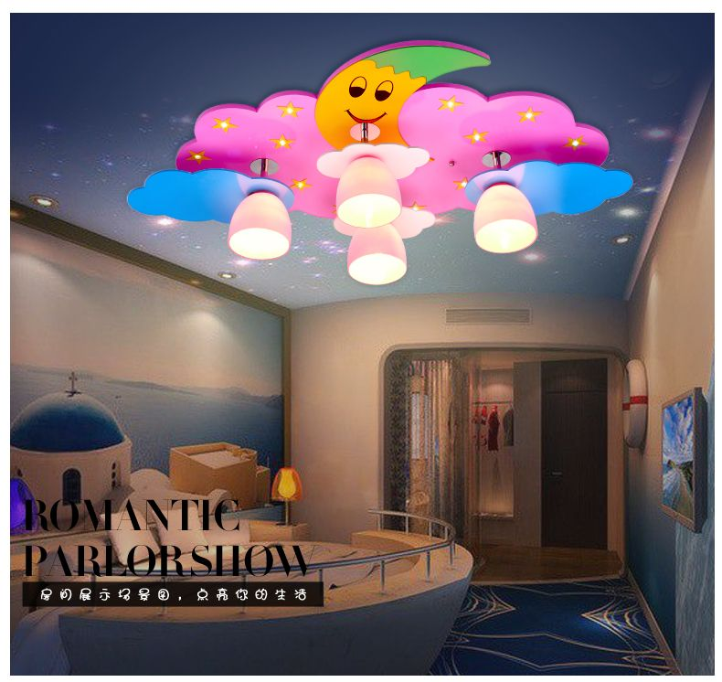 Male girl warm and creative led suction dome light room childrens male girl warm and creative led suction dome light room childrens room stars moon cartoon lighting mozeypictures Gallery