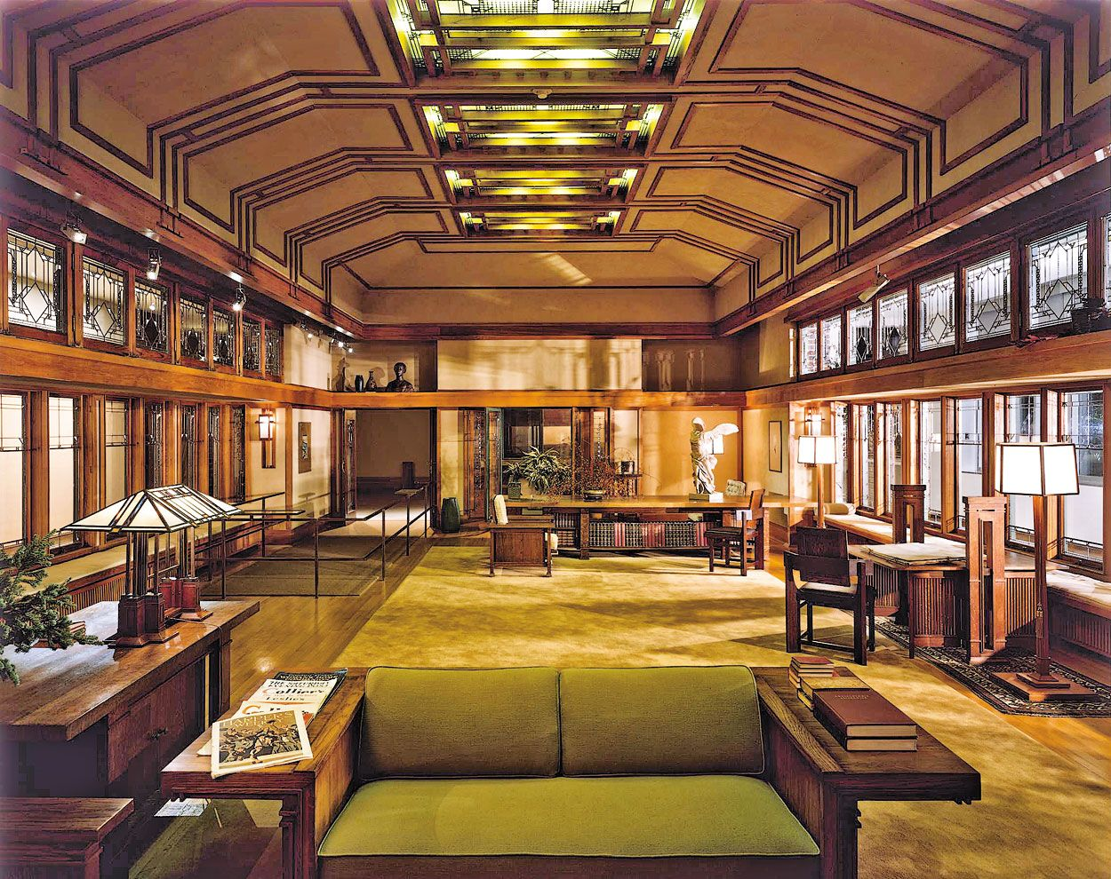 The Metropolitan Museum Of Art   Frank Lloyd Wright Room Part 86