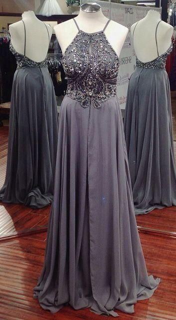Fashion Top Beaded Long Prom Dress fashion formal party dresses from superbnoivadress – Dresses, Makeup, ETC…