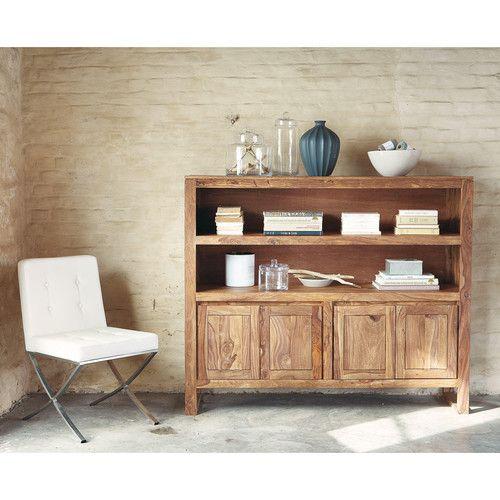 buffet en bois stockholm maisons du monde inspiratie woonkamer. Black Bedroom Furniture Sets. Home Design Ideas