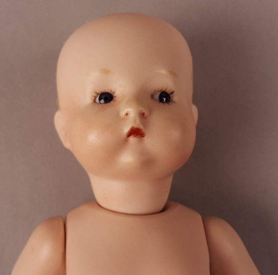 Sale Vintage Bisque Doll Germany 310 A O M Bisque Head And Body Glass Eyes No Wig Undamaged Midc Bisque Doll Vintage Porcelain Dolls Porcelain Dolls For Sale