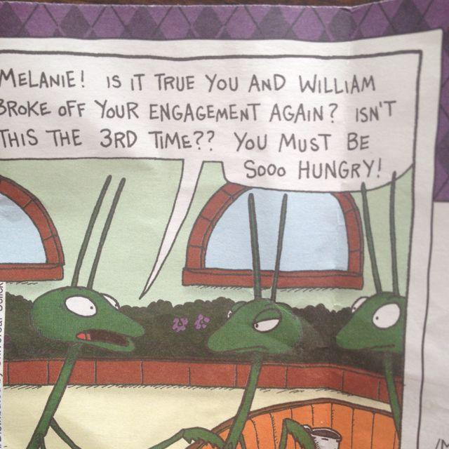 From Argyle Daily Calendar.