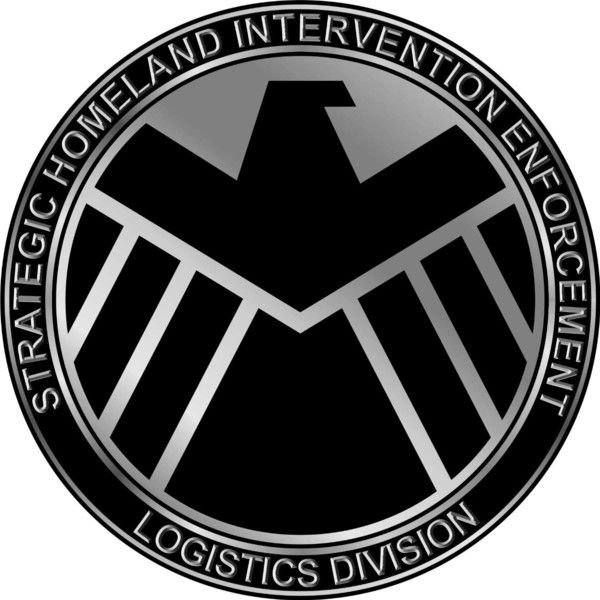 Marvels Agents Of Shield Symbol Logo Repositionable Wall