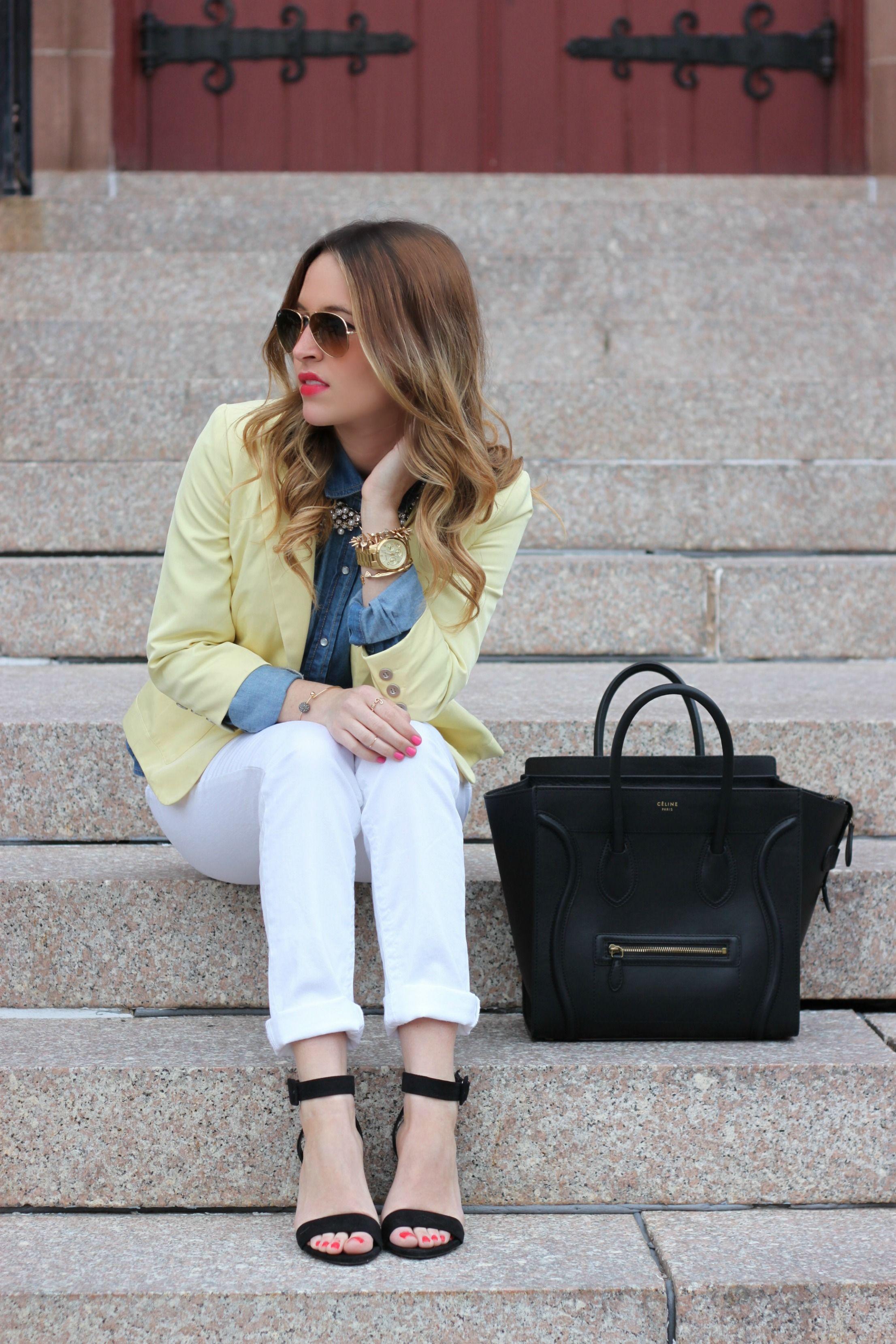 6716ecd3de Styling Spring Denim | Bloggers & StreetStyle | Denim, Fashion ...