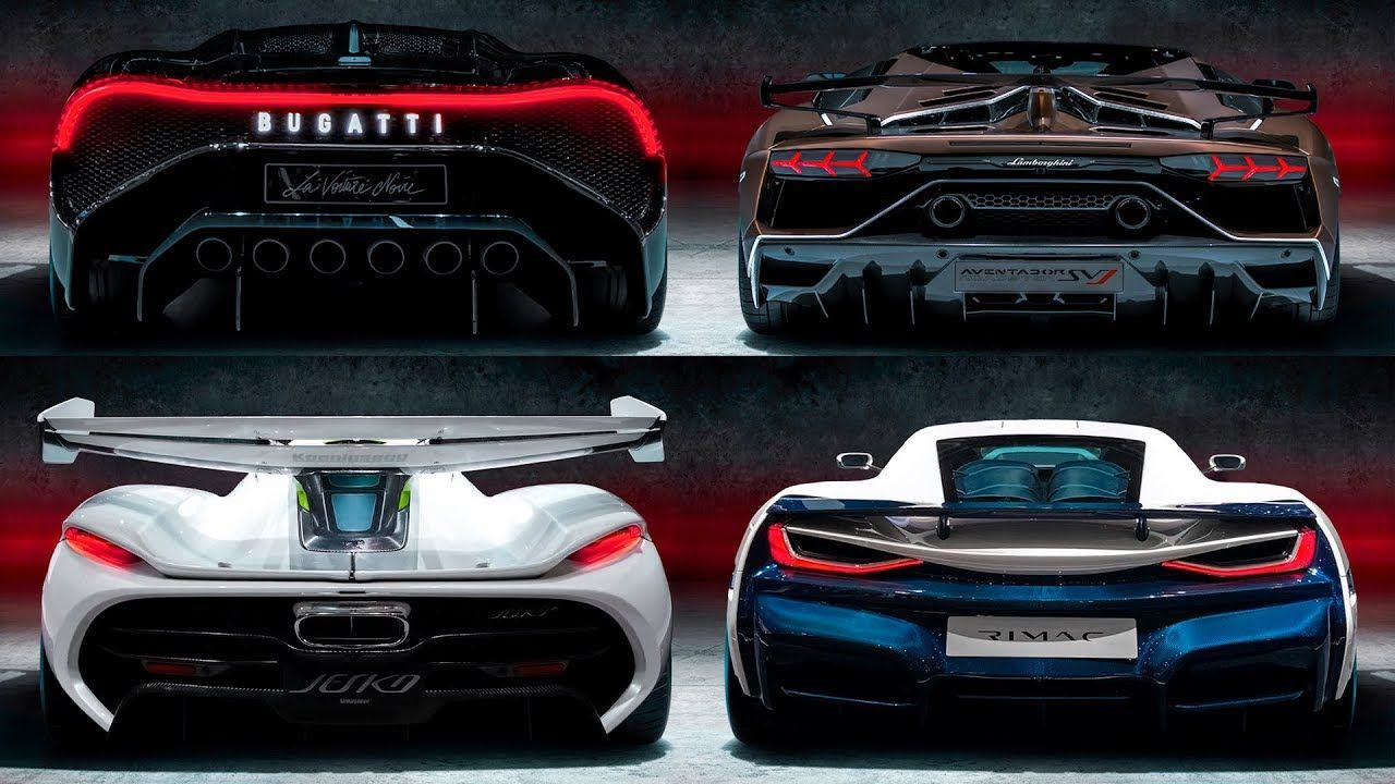12 Newest Wild Supercars 2019 2021 Super Cars Bugatti Engine Bugatti Chiron