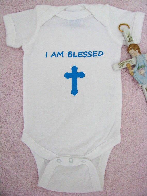 I Am Blessed Bodysuit Onesie By Aswegrow On Etsy 1095 Baptism