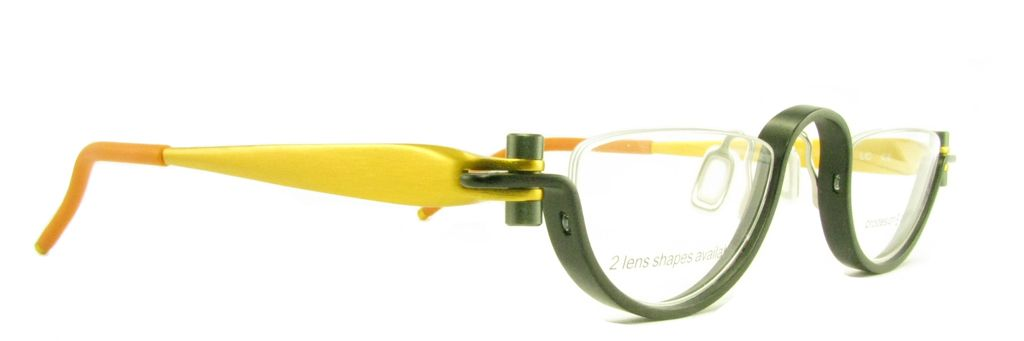 a504e8d2f Prodesign Half moon glasses << these were my former glasses but in Blue,  Black and Silver.