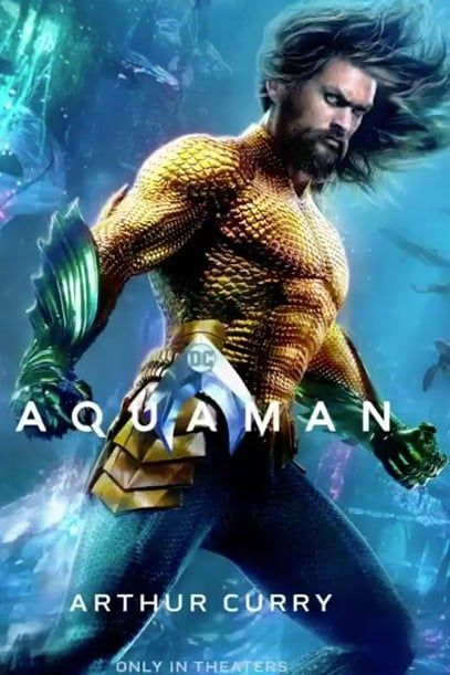 These New Aquaman Character Posters Are A Tidal Wave Of Awesome Aquaman Film Aquaman 2018 Aquaman