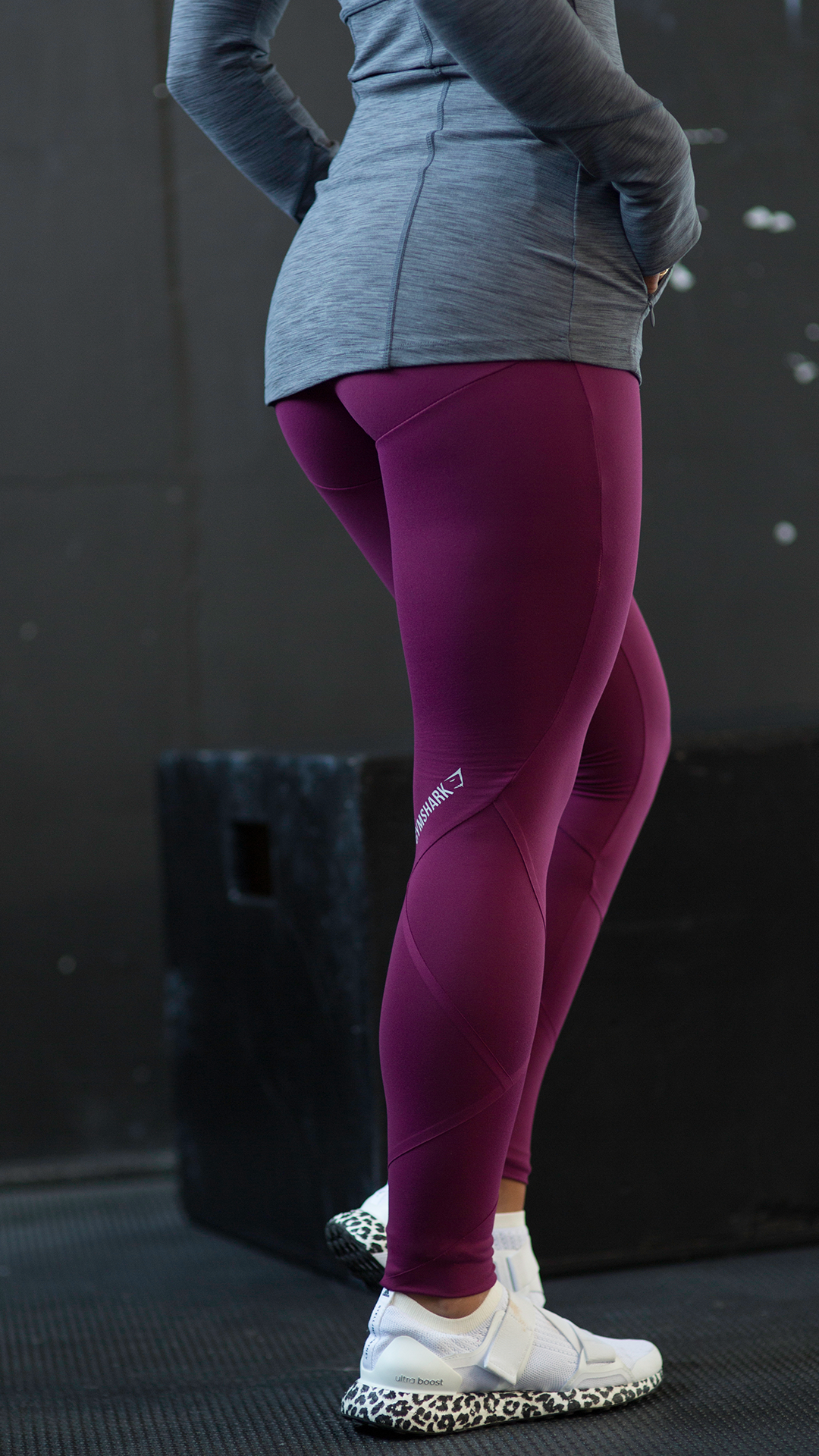 745b19cf21 The Deep Plum Fused Ankle Leggings. Perfect colours for the Autumn season  drawing in. #Gymshark #OutfitInspiration #Workout #Fitness #Red #Pink # HighWaisted ...