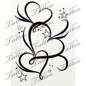 Tattoo Hearts Valentines Day Herz Tattoo 8