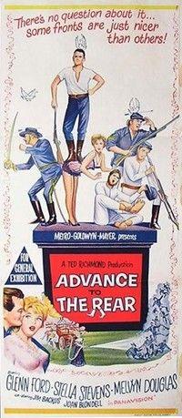 Advance To The Rear, Melvyn Douglas, Glenn Ford, Stella