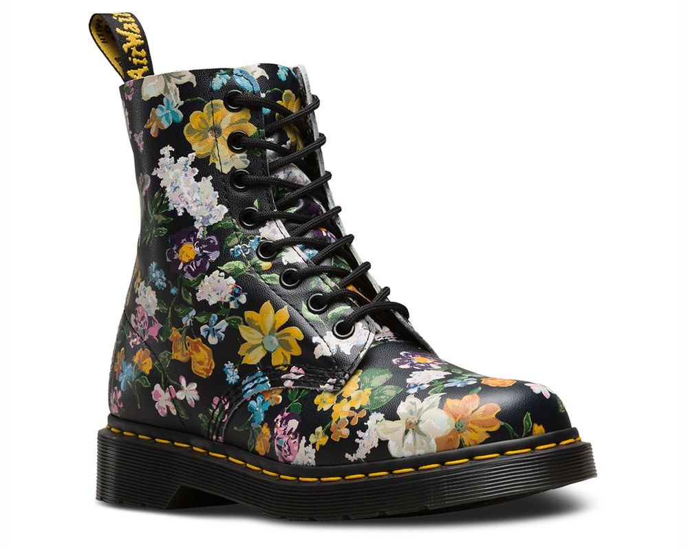 1460 Pascal Darcy Floral Leather Boot