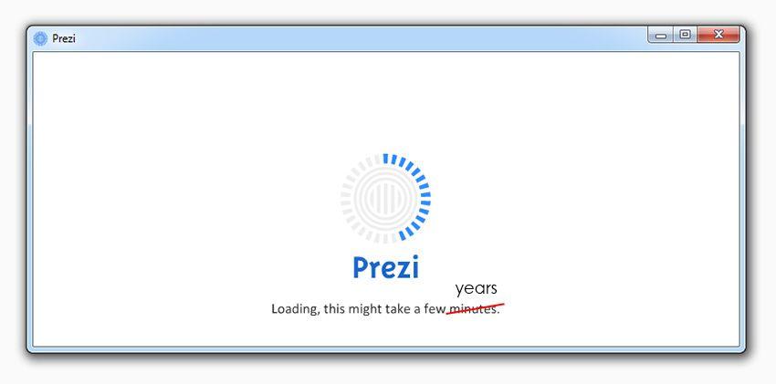 portable prezi not responding [solved] | prezibase | prezi tips, Powerpoint templates