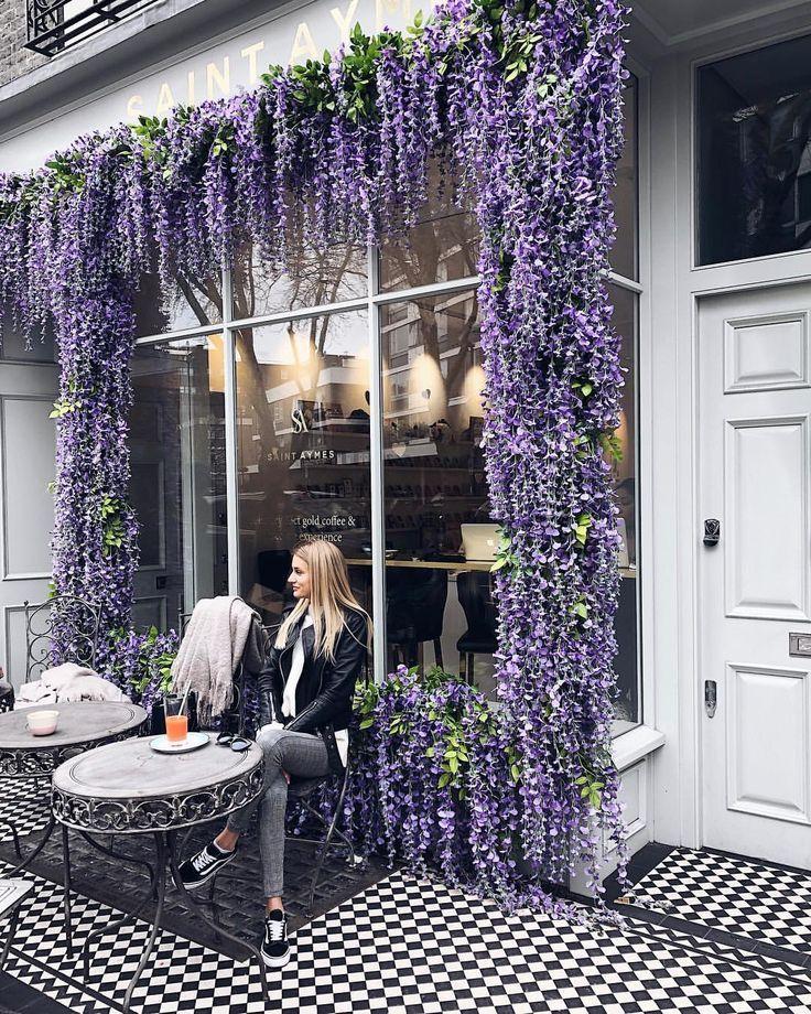 Kamilė Aleksandraviciutė On Instagram Pretty London Cafes And Unicorn La Deco Salon De Coiffure Boutique De Fleurs Salon De The